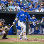 Blue Jays 1st baseman vs AL East