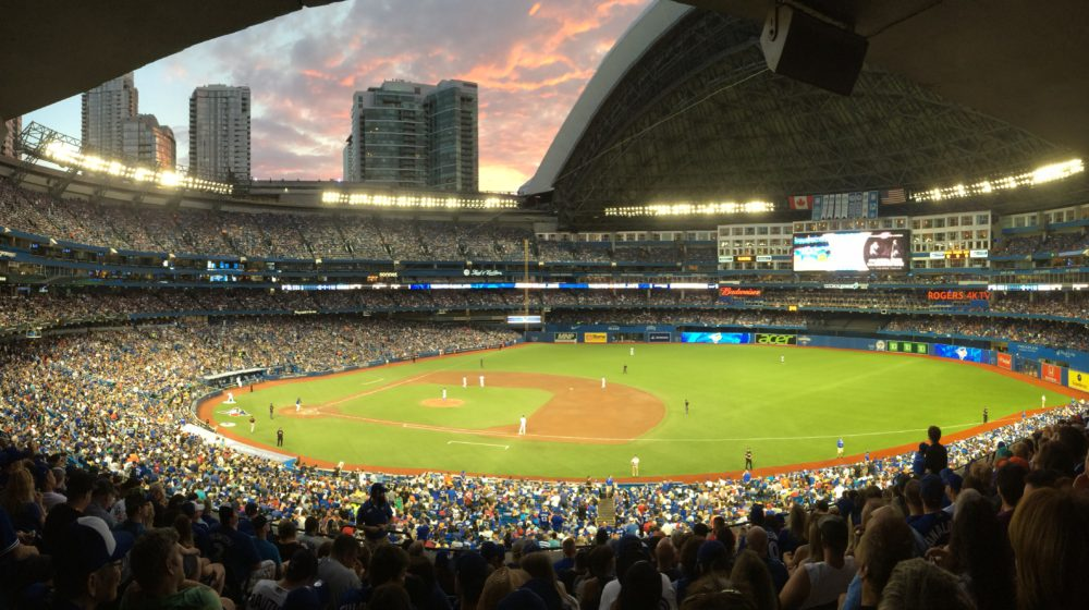 Reviewing the Ballpark E-Guide Rogers Centre Edition
