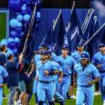 blue jays take the field- Credit: DaveMe Images